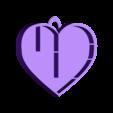 etagére coeur avec accroche.stl Download STL file Heart shelf • 3D printing model, catf3d