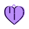 etagére coeur avec accroche 20x20.stl Download STL file Heart shelf • 3D printing model, catf3d