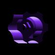 tension_knob.stl Télécharger fichier STL gratuit Extrudeuse à engrenages • Modèle pour impression 3D, Job