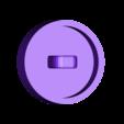 CounterEndCap.stl Download free STL file Life Counter • 3D printing template, daandruff