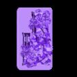 Maison détruite 1 10mm.stl Download STL file Ruined House 1 - Medieval Wargame in Napoleon • 3D printing design, Eskice
