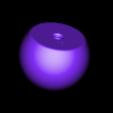 Sulfur120.stl Download free STL file Space-filling molecular models: Sulfur and Phosphorous expansion pack • 3D printer design, harfigger