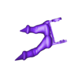 fingers left 2 print.stl Download free STL file GADGET the robotic Gremlin • 3D printing object, atarka3