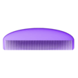 customized_hair_comb_no3.stl Download free STL file Customizable Comb • 3D printable model, MightyNozzle