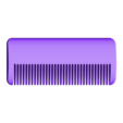 customized_travel_comb_no3.stl Download free STL file Customizable Comb • 3D printable model, MightyNozzle