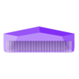 customized_travel_comb_no4.stl Download free STL file Customizable Comb • 3D printable model, MightyNozzle