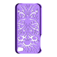 butterfly case 4s.stl Download STL file Butterfly Iphone Case 4 4s • Object to 3D print, Custom3DPrinting