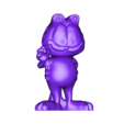 Garfield F.stl Download STL file Garfield • 3D printable object, Majs84