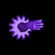 Avant bras homme -2.stl Download free STL file The arm of destiny. • 3D printing template, Alienmaker