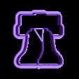 LibertyBellCookieCutter.stl Download STL file Liberty Bell Cookie Cutter from Philadelphia • Model to 3D print, 9R07S6VOOU0K20