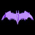 Batman.stl Download free STL file Batman fly • 3D printable object, psl