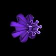 "cog.stl Download free STL file ""Cog"" vase • 3D printing template, Jarek-SRT"