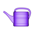 watering_can_left.stl Download free STL file Watering Can • Object to 3D print, MaxMKA