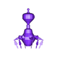 Sentinel2.obj Download 3DS file Sentinel robot - Rawly • 3D printing template, Puf