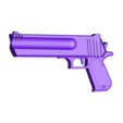 hand_cannon_fortnite_whole.stl Download free STL file FORTNITE HAND CANNON • 3D printer template, A_SKEWED_VIEW_3D