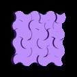 plaque 4.stl Télécharger fichier STL gratuit plaque murale déco • Modèle pour impression 3D, juanpix