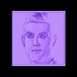 cr7dibujo3d.stl Télécharger fichier STL gratuit cadre dessin 3D Cristiano Ronaldo CR7 • Modèle à imprimer en 3D, 3dlito