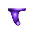 Crochet.stl Download STL file Hook • 3D printer model, francknos