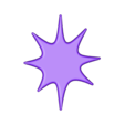 Space Decals_ Star G.stl Download free STL file Space Decals • 3D printing template, Hom3d