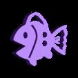Fish Button.stl Download free STL file Fish Button • 3D printing model, Lucy_Haribert