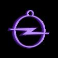 logo opel.stl Download STL file Opel key ring • 3D print design, LnZProd