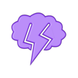 Lightning Clip.stl Download free STL file Lightning Clip • 3D printer object, Terryyy
