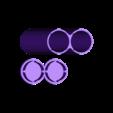 boite a batterie cig.stl Download STL file box 2 batteries 18650 electronic cigarette • 3D printable object, frednad