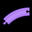 Left Turn Track.stl Download free STL file Toy Train Tracks • 3D printer design, FerryTeacher