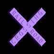 Railroad Crossing Sign.stl Download free STL file Traffic Road Signs • 3D printable template, Emiliano_Brignito