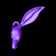 Bunny BFFs Keychain_ Right.stl Download free STL file Woodlands BFF Keychains • 3D printer object, Emiliano_Brignito