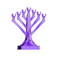 plp-chandelier-7-branches-grif.stl Download STL file PLP CHANDELIER 7 BRANCHES • 3D printable design, PLP