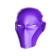 Facemask Red X.stl Download STL file Deathstroke Injustice Helmet • 3D printable model, VillainousPropShop