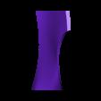 part 4.stl Download STL file Deathstroke Injustice Helmet • 3D printable model, VillainousPropShop
