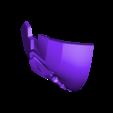 Deathstroke Part 1.stl Download STL file Deathstroke Injustice Helmet • 3D printable model, VillainousPropShop