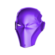 Facemask Deathstroke.stl Download STL file Deathstroke Injustice Helmet • 3D printable model, VillainousPropShop
