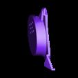 part 13.stl Download STL file Deathstroke Injustice Helmet • 3D printable model, VillainousPropShop