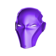 Facemask Two Eyes.stl Download STL file Deathstroke Injustice Helmet • 3D printable model, VillainousPropShop