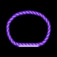 CUSTOM Braided Braclet Blank.stl Download STL file Jewelry Pack - Bracelet Wristband Pendant Military Dog Tag Heart • 3D printer model, Custom3DPrinting