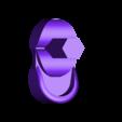Beak_AttchtoHead.stl Download free STL file Rainbow Toucan • 3D printing template, 3rdesignworks
