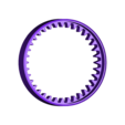 Gear36-Ring101.stl Download STL file Propfan Engine, Pusher Type using with Planetary Gearbox • 3D printer template, konchan77