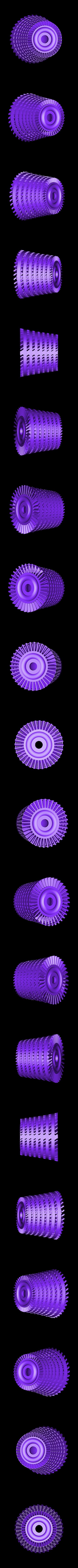 IPC-Rotor901ws.stl Download free STL file Jet Engine; 3-Spool, Modified Parts • Model to 3D print, konchan77