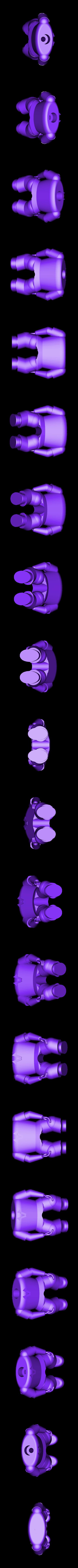 bodywithHands.stl Download free STL file Bobble Head • Model to 3D print, wjordan819