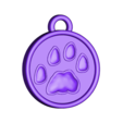 paw_print_pendant_single.stl Download STL file SCHRODINKY: BRITISH SHORTHAIR CAT IN A BOX – 3D PRINTABLE, MULTI PART MODEL - SINGLE EXTRUSION PACKAGE • 3D printer design, loubie