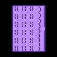 bit_holder_hex_bit_holder_v3.stl Download free STL file Hex Bit Holder • 3D print template, kumekay