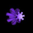 """cog_vase_mode.stl Download free STL file """"Cog"""" vase • 3D printing template, Jarek-SRT"""