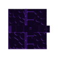 Finalized_Wall_X.stl Télécharger fichier STL GeneriTiles - Topset de table RPG • Modèle pour imprimante 3D, daandruff