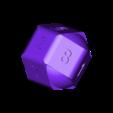 Dobbelsteen hol en dicht.stl Download STL file 10 Side dice • 3D print object, Adriaan