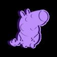 Peppa_Pig_Cookie_cutter 1.stl Download STL file cookie cutter Peppa_Pig_Cookie_cutter, cookie cutter • 3D printer design, catoiraf