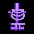 body_scaled_by_ctrl_design.stl Download free STL file Giant Lego Skeleton • 3D printer template, Byctrldesign