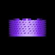 "DESSUSV3 photophore coucou.STL Download free STL file kit plus coasters / flat / photophore ""cuckoo c'est moi"" • 3D printer object, boyery"